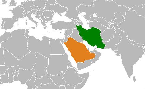L'Arabie saoudite, sunnite, et l'Iran, chiite, sont les deux puissances rivales de la région. Image du domaine public.