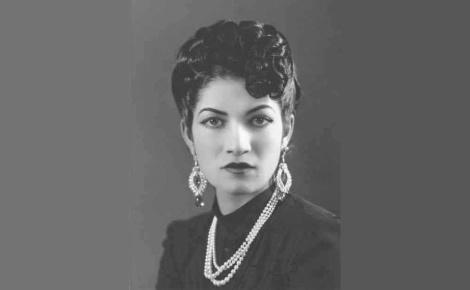 La jeune princesse Pahlavi. Ilage du domaine public.