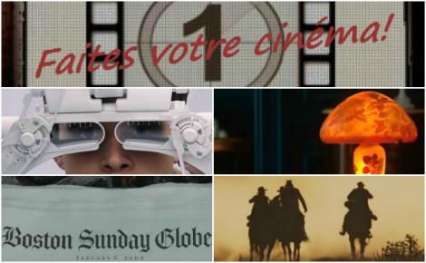Faites votre cinéma! Semaine du 27 janvier au 2 février