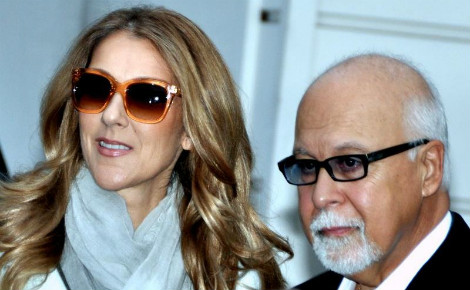 Céline Dion avec son mari en 2012. Photo (c) Georges Biard
