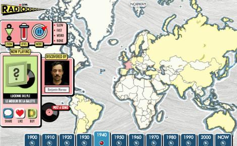 Radiooooo, une webradio qui fait voyager