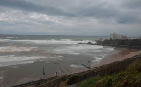 Plage de Marbella à Biarritz. Photo (c) Julie Cartelier
