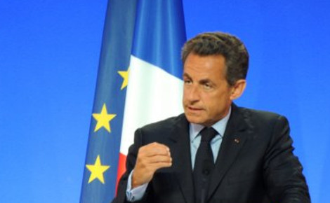 Nicolas Sarkozy. Photo (c) Guillaume Paumier.