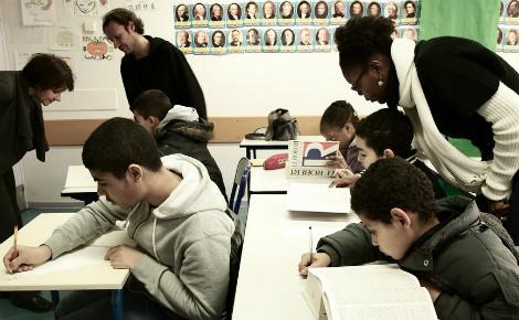 Salle de classe. Photo (c) Letrusko