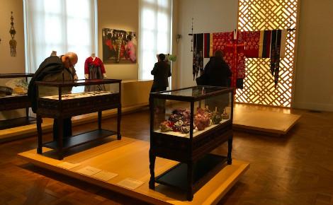 Exposition coréenne au musée Guimet. Photo (c) Laëtitia Fromenteau