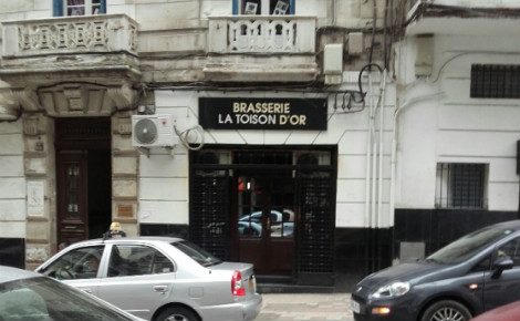 La toison d'or, rue Didouche Mourad, Alger centre. Photo (c) Naima