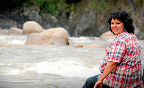 Berta Cáceres. Photo (c) Goldman Environmental Prize