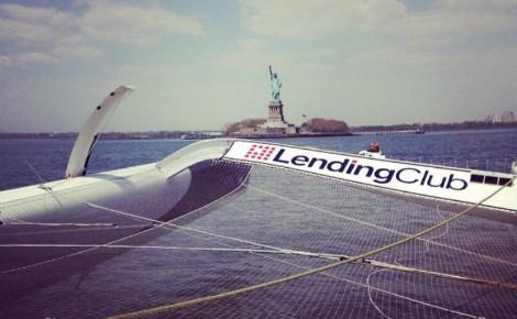 Capture d'écran du compte instagram @lendingclubsailing