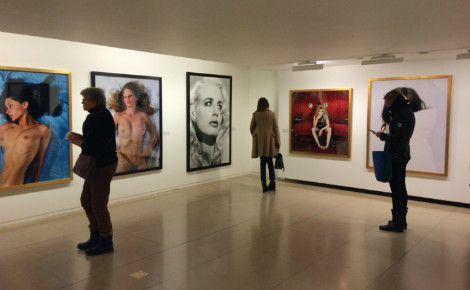 Exposition Bettina Rheims. Photo (c) Laëtitia Fromenteau
