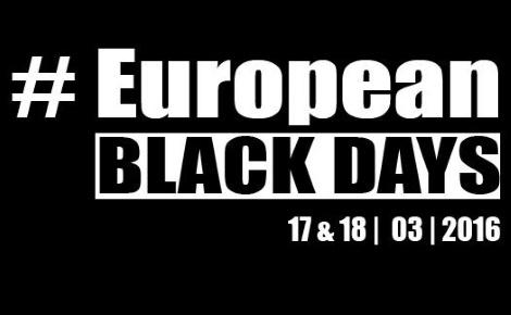 La bannière #EuropeanBlackdays. Image du domaine public.