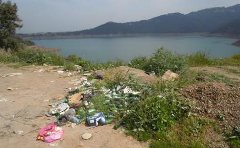 Le barrage de Taksebt, Tizi Ouzou, Algérie. Photo (c) Naima Ait Ahcene.