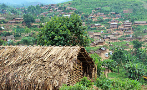 Village de Kalembe, Nord-Kivu, RDC. Photo (c) Pierre Buingo