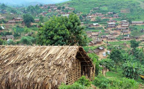 Village de Kalembe, Nord-Kivu, RDC. Photo (c) Pierre Buingo