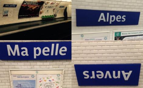 Quelques unes des stations rebaptisées. (c) RATP. Cliquez ici pour accéder au site officiel