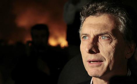 Mauricio Macri, dans la tourmente, en plein coeur du scandal des Panama papers. Photo (c) Nahuel Padrevecchi