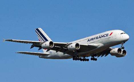Airbus A380 de la compagnie aérienne Air France. Photo © Joe Ravi.
