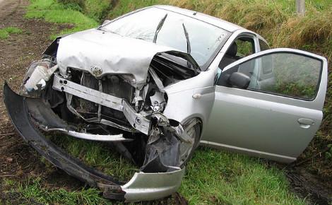 Accident routier. Photo (c) Julien Bertrand