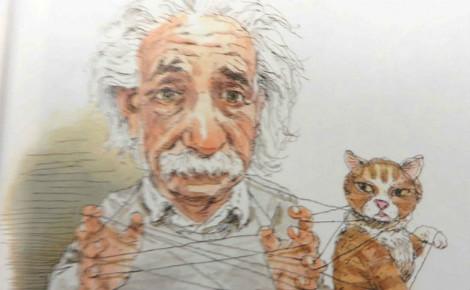 Einstein et l'intrication quantique. Photo (c) Gwydion M. Williams. Cliquez ici pour en savoir plus sur le sujet