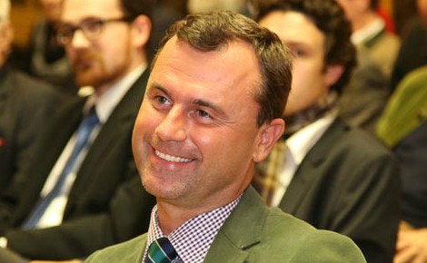 Norbert Hofer en 2014. Photo (c) Franz Johann Morgenbesser