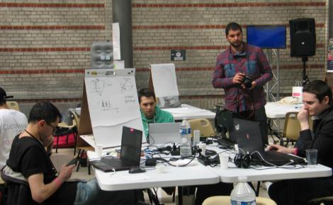 76 participants avaient 48 heures chrono pour conceptualiser un projet numérique et culturel innovant. Photo (c) C. Szumilo