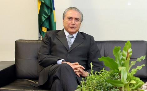 Michel Temer devient président du Brésil pour les six prochains mois. Photo (c) Romério Cunha