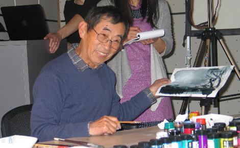Considéré au Japon comme l'un des plus grands maîtres de l'animation. Photo (c) C. Szumilo