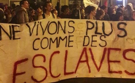 Cortège festif contre la Loi Travail, Montpellier le 28 mai 2016. Photo (c) Alexandre Brutelle