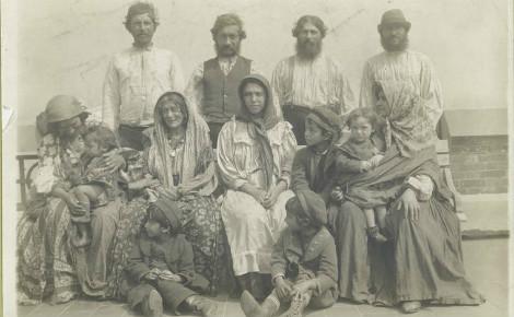 Roms en Hongrie. Image du domaine public.