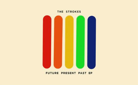 La pochette du dernier EP de The Strokes. Cliquez ici pour accéder à la page du groupe