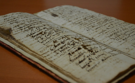 Le plus ancien registre date de 1546. Photo (c) DR
