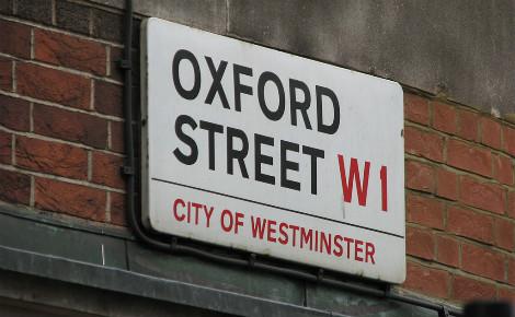 Oxford Street. Photo (c) Alex Dawson
