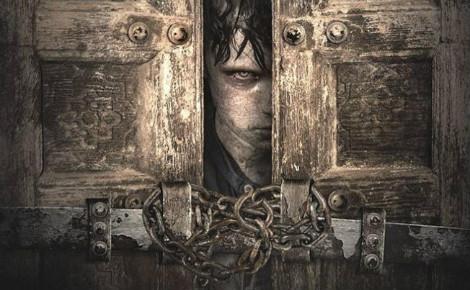 """Une affiche qui rappelle celle de """"Shining"""", un vrai bon film d'horreur. Photo courtoisie (c) The Door"""