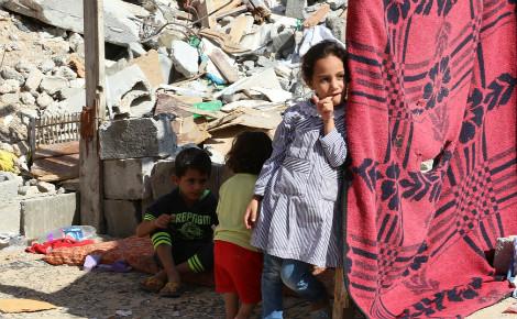 Enfants de Gaza. Photo (c) Badwanart0