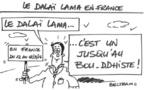 Le dalaï-lama en France