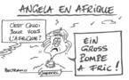 Merkel en Afrique