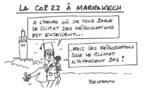 La COP22 au Maroc