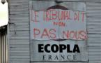 Ecopla: Blocus improvisé devant l'entreprise
