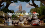 Pigeons et dragons, tweets et chevaliers