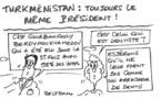 Turkménistan ou truque-ménistan?