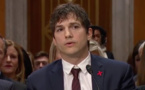 Du grand écran au Sénat: Ashton Kutcher en lutte contre le tourisme sexuel