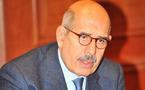 Le Docteur Mohamed El Baradei, Prix Nobel de la paix en visite à Monaco