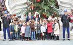 L'arbre de Noël du Palais Princier