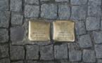 Les pavés de Günter Demnig s'exposent à Bordeaux