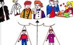 Lancement d'un concours de dessin sur l'égalité entre les hommes et les femmes