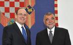 Le Prince Albert II de Monaco en Croatie