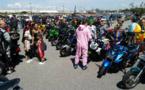 Les motards basco-landais défilent au profit d'une association caritative
