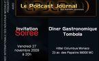 Invitation à la Soirée du Podcast Journal