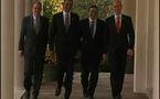 Vidéo à la Une: Obama rencontre les leaders européens