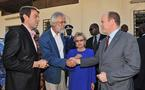 Le Prince Albert II en visite officielle au Sénégal