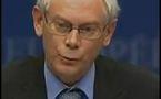 UNION EUROPEENNE: Le président fixe est le premier ministre belge, Herman Van Rompuy
